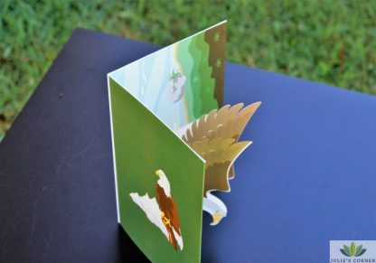 Eagle-Pop up card