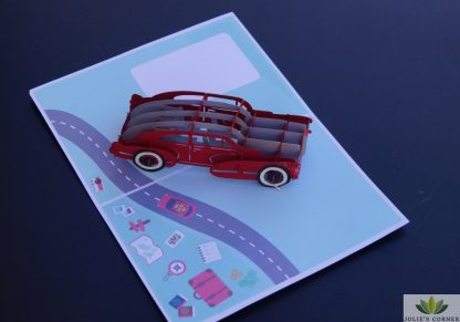 Classic car-Pop up card