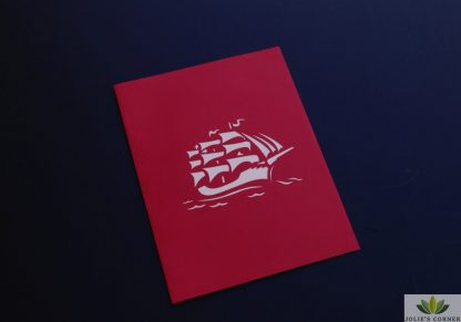 Big boat- Pop up card