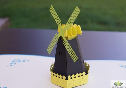 Windmill-Pop up card